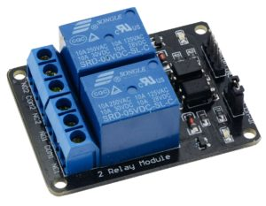 2-Channel Relay Module DC Motor Driver