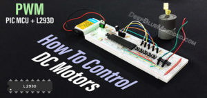 DC Motor Speed Control - PWM With L293D IC