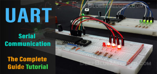 UART Serial Communication Tutorial With PIC Microcontroller