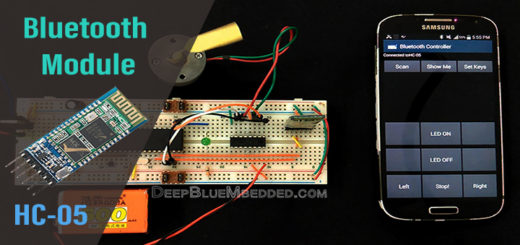 Bluetooth Module HC-05 Tutorial With PIC Microcontroller Thumbnail