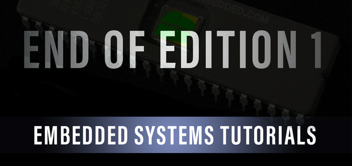 Embedded Systems Tutorials Edition1 End