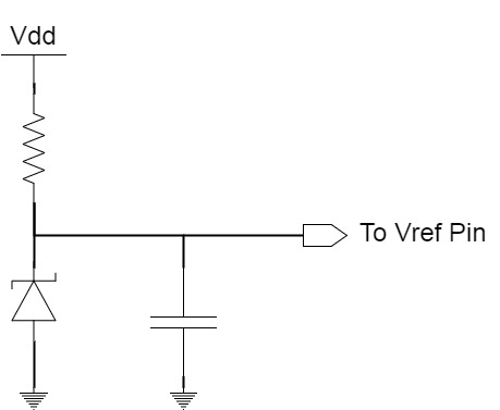 Stable Analog Voltage Reference For ADC