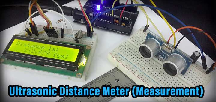 Ultrasonic Distance Meter Measurement Tutorial Thumbnail