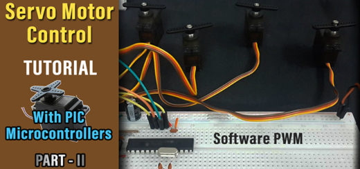 Servo Motor Tutorial With PIC Part2 - Thumbnail