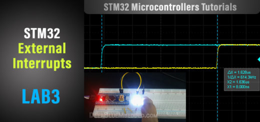 STM32 External Interrupt Example LAB Tutorial