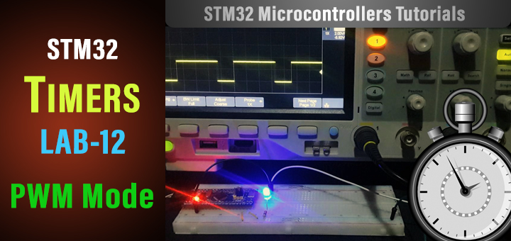 STM32 PWM Example Tutorial - STM32 Timer PWM Mode HAL CubeMX Tutorial