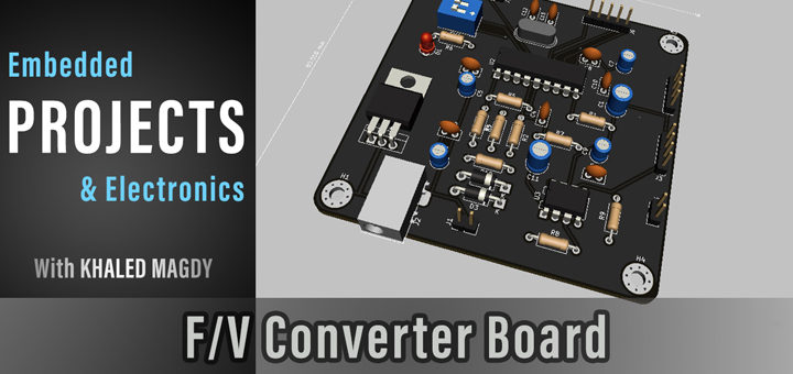 Frequency To Voltage Converter Board Design Project
