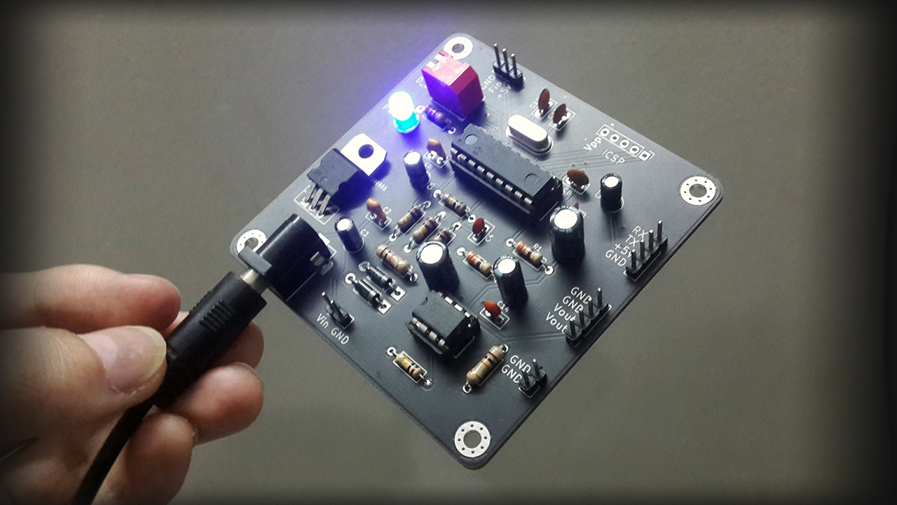 Frequency To Voltage Converter Board PCB1