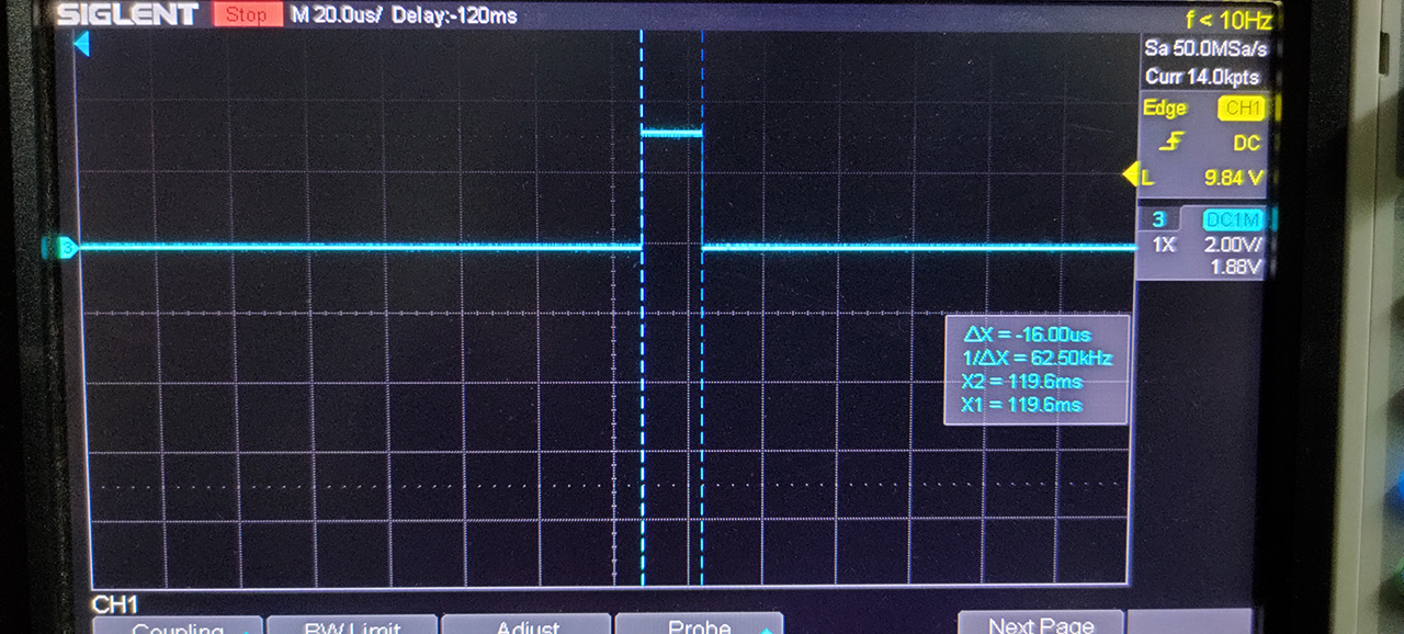 STM32 GPIO Buttons Scanning And Debouncing Execution Time