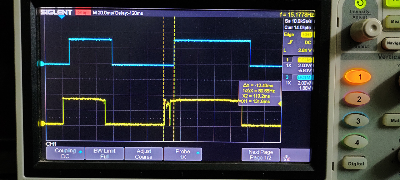 STM32 Switch Debounced Reading