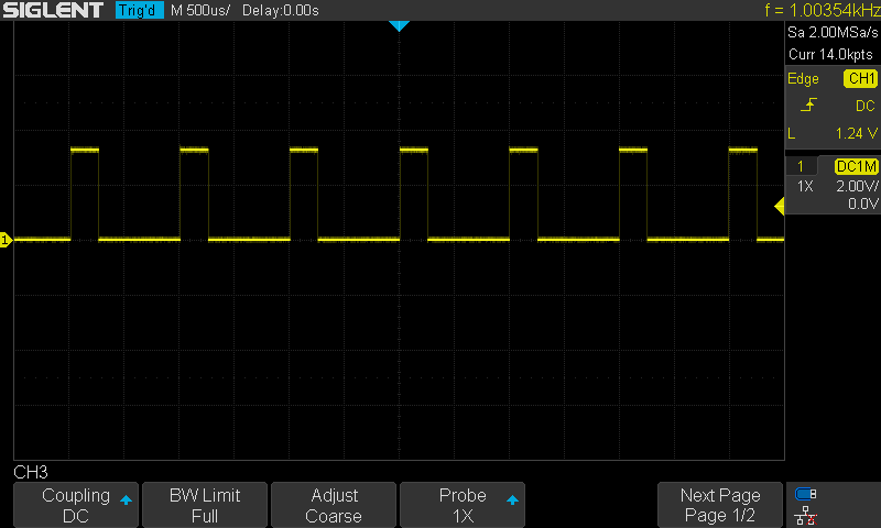STM32 DC Motor Control L293D Example Testing Driver