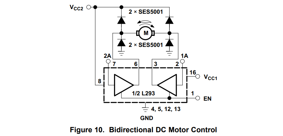 STM32 With L293D DC Motor Direction Control