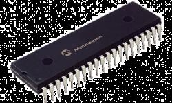PIC Microcontroller PNG DeepBlue